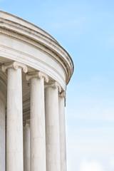 Ionic Columns at Jefferson Memorial