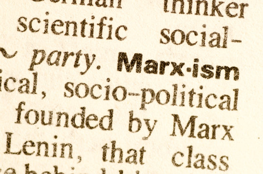 Dictionary definition of word Marxism