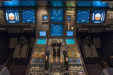 Verkehrsflugzeug, Cockpit