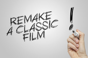 Hand writing remake a classic film