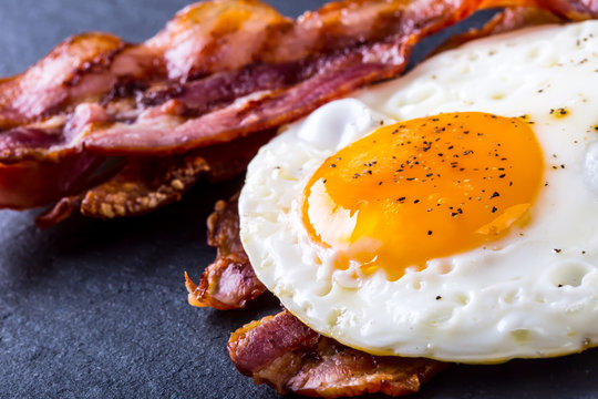 Ham and Egg. Bacon and Egg.