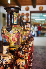 Shop with pottery
