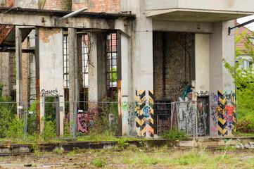 Lost Places Ruine Graffiti