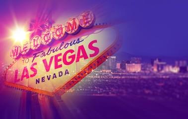 Foto op Aluminium Las Vegas Las Vegas Concept Photo