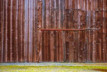 Old Barn Wooden Wall