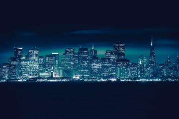 Wall Mural - San Francisco Blue Skyline