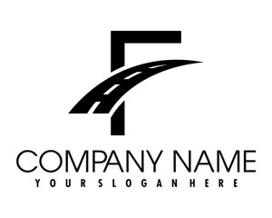 F road logo image vector