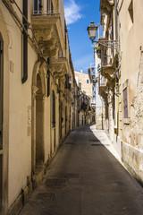 Ortigia Alley, Syracuse, Sicily, Italy