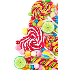 Fototapete - Colorful candies