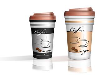 Kaffe to go, freigestellt