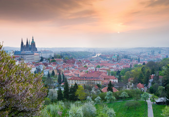 Prague castle, Lesser town, Prague (UNESCO), Czech republic