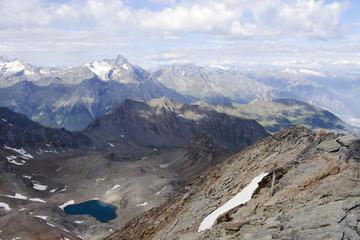 Mont Emilius, lake