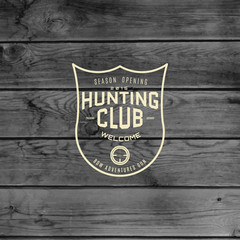 Hunting  club badges logos and labels for any use