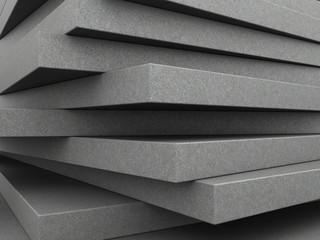 Beton 3D - tło płyty betonowe tworzące efekt trójwymiaru