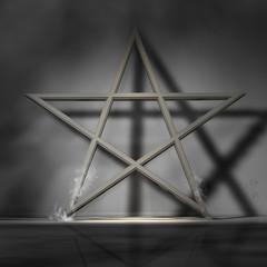 Pentagramm Wand DH