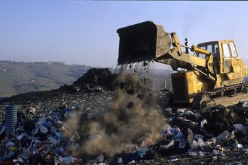 discarica di rifiuti solido urbani
