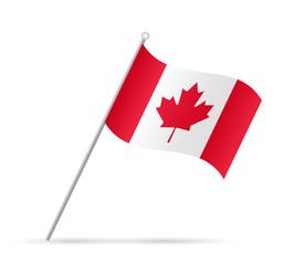 Canada  Flag Illustration