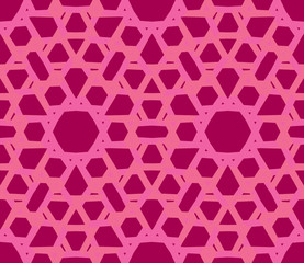Bright lace pattern in lilac pink