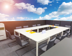 Office on open air