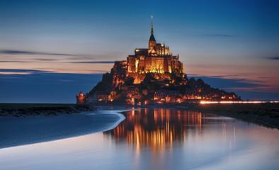 Nocturne au Mont-Saint-Michel