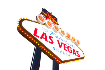 Aluminium Prints Las Vegas Welcome To Las Vegas