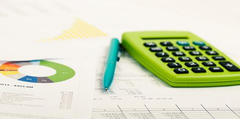 Obraz Financial accounting - fototapety do salonu
