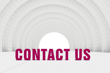 contact us, communication concept