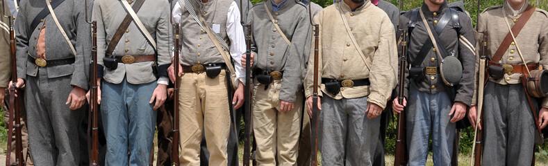 Confederate uniforms - American Civil War 1861-1865