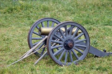 American Civil war cannon 1861-1865