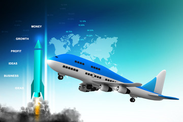 3d multi use air plane