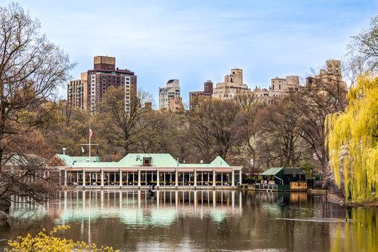 Central Park Boat House