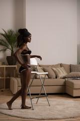 African model lingerie