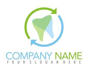 tooth dental health logo image vector