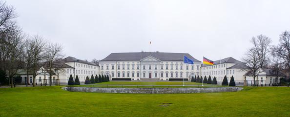 bellevue palace in berlin is a seat of german president.