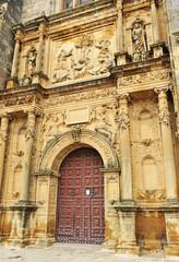 Portada de la Capilla del Salvador, Úbeda, Jaén, España