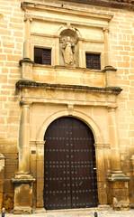 Portada lateral, capilla Divino Salvador, Úbeda, Jaén, España