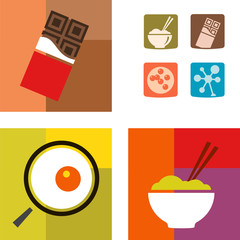 Food icons full set