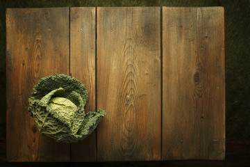 Fresh vegetables at a picnic table background