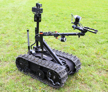 Military robot.