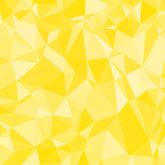 Abstract Yellow Triangle Geometrical Background, Gold Pattern