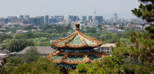 Fotobehang Beijing Modern Beijing Skyline
