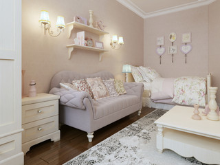 Art deco bedroom style