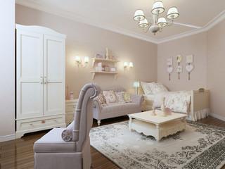 Avant-garde bedroom design