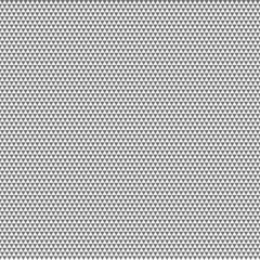Big seamless gray pattern triangles on white background. Vector