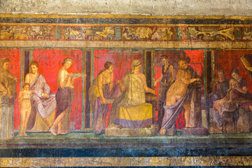 Pompeii city Wall mural