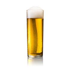 Kölsch bier glas mit tautropfen
