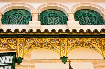 Casa señorial del siglo XVIII, Écija, Andalucía, España