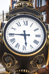Americana old clock face