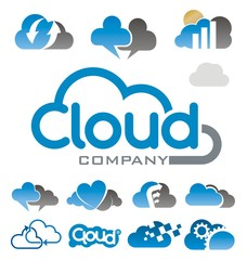 cloud logo symbol
