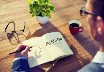 Mission Marketing Solution Analysis Concept